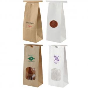 Re-Sealable Paper Coffee Bag