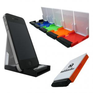 Folding Phone Stand & Screen Cleaner