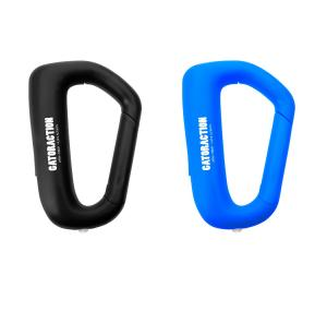 Neon Carabiner with Flashlight