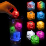 Button Activated Glow Ice Cubes
