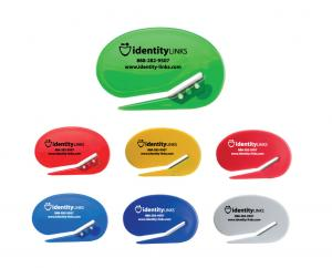 Identity Oval Shaped Envelope Cutter