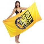 Full Color Subli-Cotton Terry Beach Towel