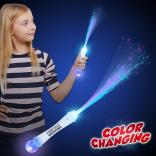 Fiber Optic Multi Color Wand