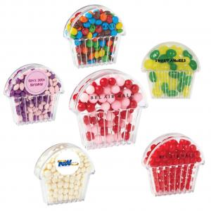 Mini Cupcake Shaped Candy Container