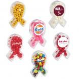 Mini Awareness Ribbon Shaped Candy Container