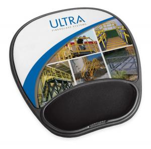 Full Color Wrist Rest Mouse Pad