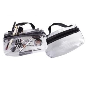 Clear Cosmetic Bag with Handle
