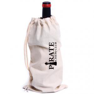 Bergamo Drawstring Wine Bag