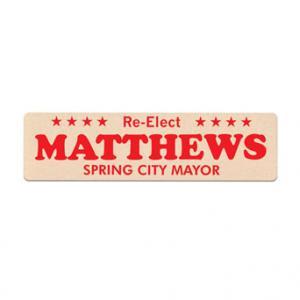 Bumper Sticker Shaped Emery Board
