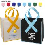 Awareness Ribbon Grocery Shopping Bag