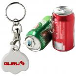 Can Beverage Cap with Key Chain