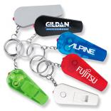 Pocket Whistle Keylight Keychain