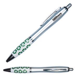 Recycle Symbol Grip Retractable Pen