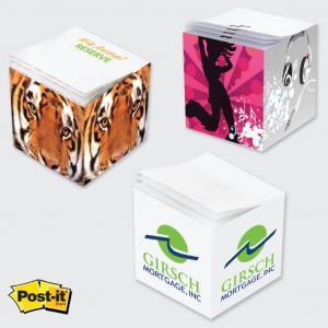 """3M 2-3/4"""" x 2-3/4"""" x 2-3/4"""" Post-it Note Cubes"""