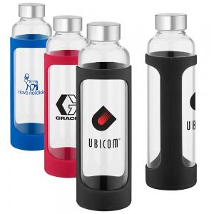 20 oz. Glass Water Bottle with Screw Top Lid