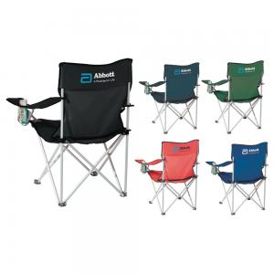 Outdoor Event Folding Chair with Cupholders