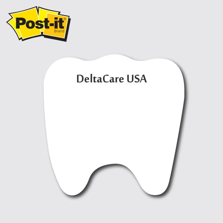 Tooth Shaped Post It Notes