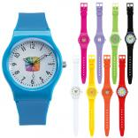Neon Brite Plastic Watch
