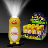 Duck Shaped Zoo Brights Flashlight