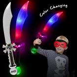 "23"" Light Up Pirate Sword"