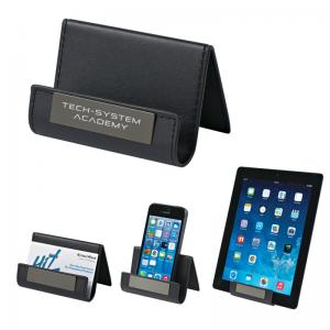 Executive Metal Plate Phone Tablet or Card Holder