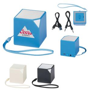 Cube Bluetooth Speaker with Wrist Strap