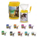 Dog Paw Soft Wipes in Canister