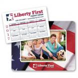 "4"" x 6"" Full Color Magnetic Frame with Calender Punch Out"