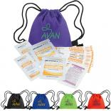 Mini Drawstring First Aid Kits