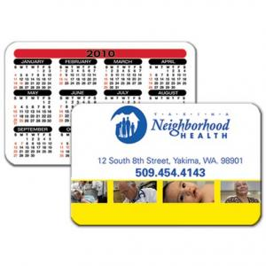 Custom Wallet Card Calendar