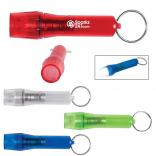 Mini Translucent Twist Keychain Light