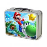 3 Inch Metal Flat Top Lunch Box