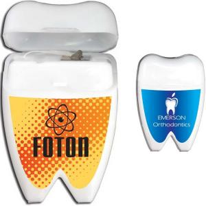 Mint Flavored Tooth Shaped Dental Floss