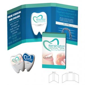 Dental Floss With Booklet