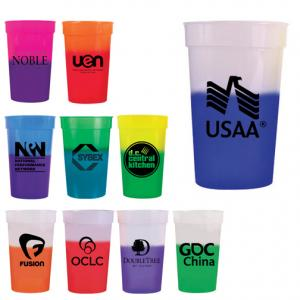 22 Oz. Color Changing Stadium Cup