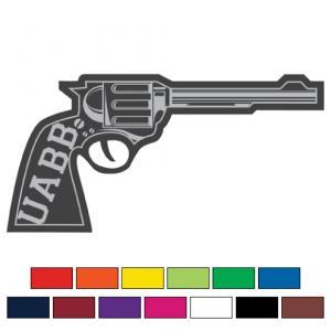 Foam Retro Pistol Gun